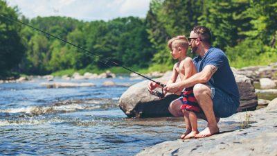 kids and beginner fishing